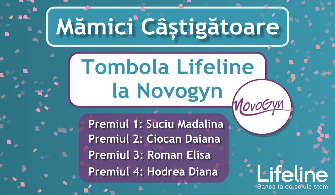 🎊Mămici câștigătoare -> 🎈Tombola Lifeline la Novogyn Clinică Obstetrică-Ginecologie!