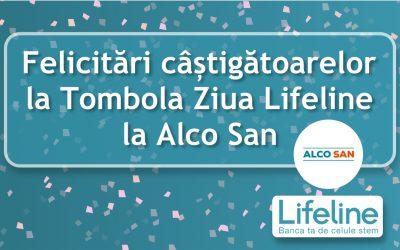 🎊Mămici câștigătoare -> 🎈Tombola Lifeline la Clinica Alco San!