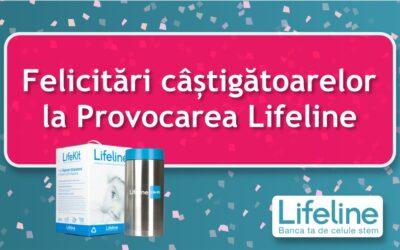 Felicitări câștigătoarelor la Provocarea Lifeline
