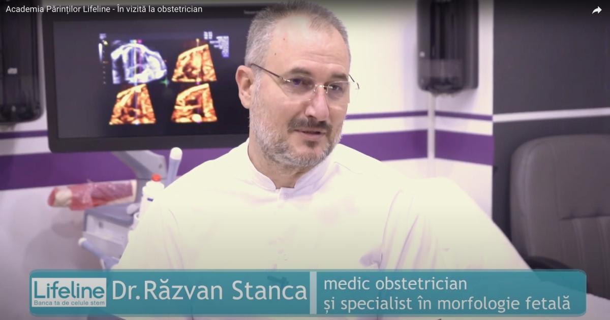 Academia Părinților Lifeline - În vizită la obstetrician, un interviu de excepție cu Dr. Răzvan Stanca!