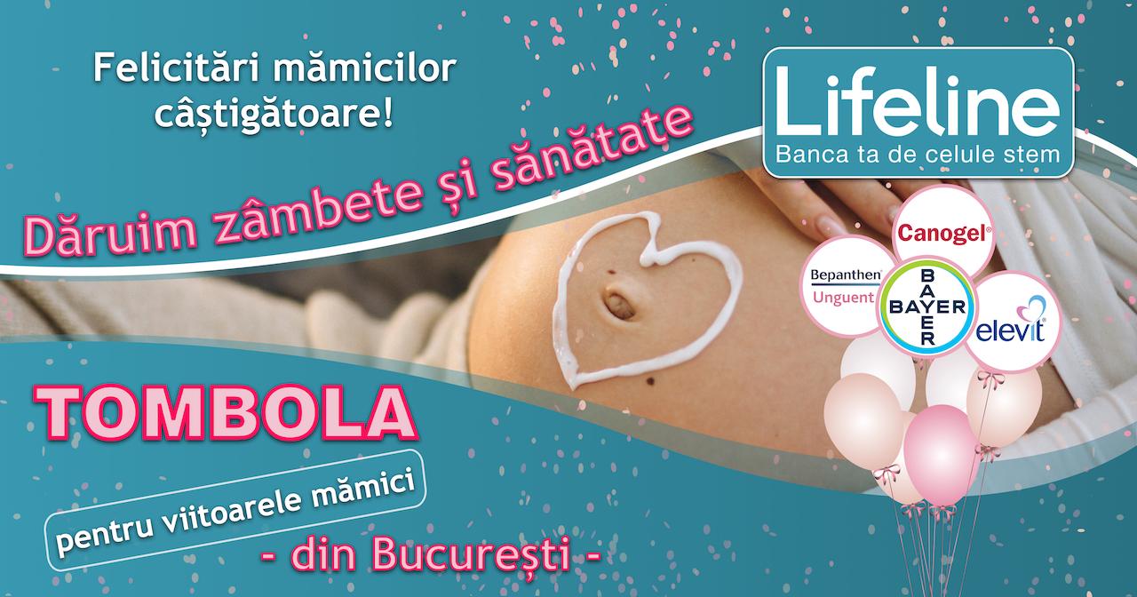 Mămici câștigătoare la Tombola Dăruim zâmbete și sănătate – București
