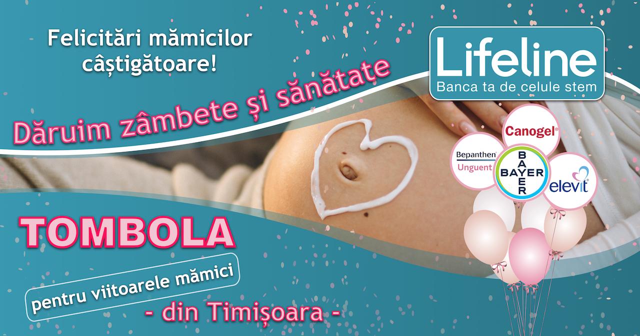 Mămici câștigătoare la Tombola Dăruim zâmbete și sănătate – Timișoara