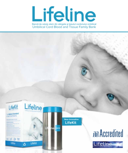 Coperta Brosura Lifeline - Banca ta de celule stem